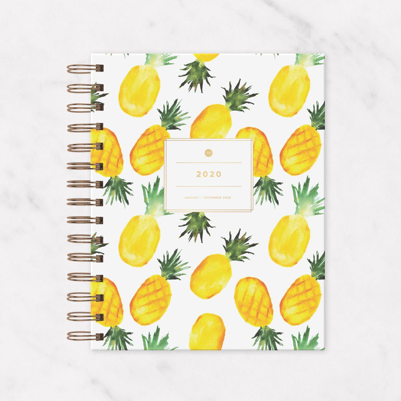 2020 IVF Planner Pineapple