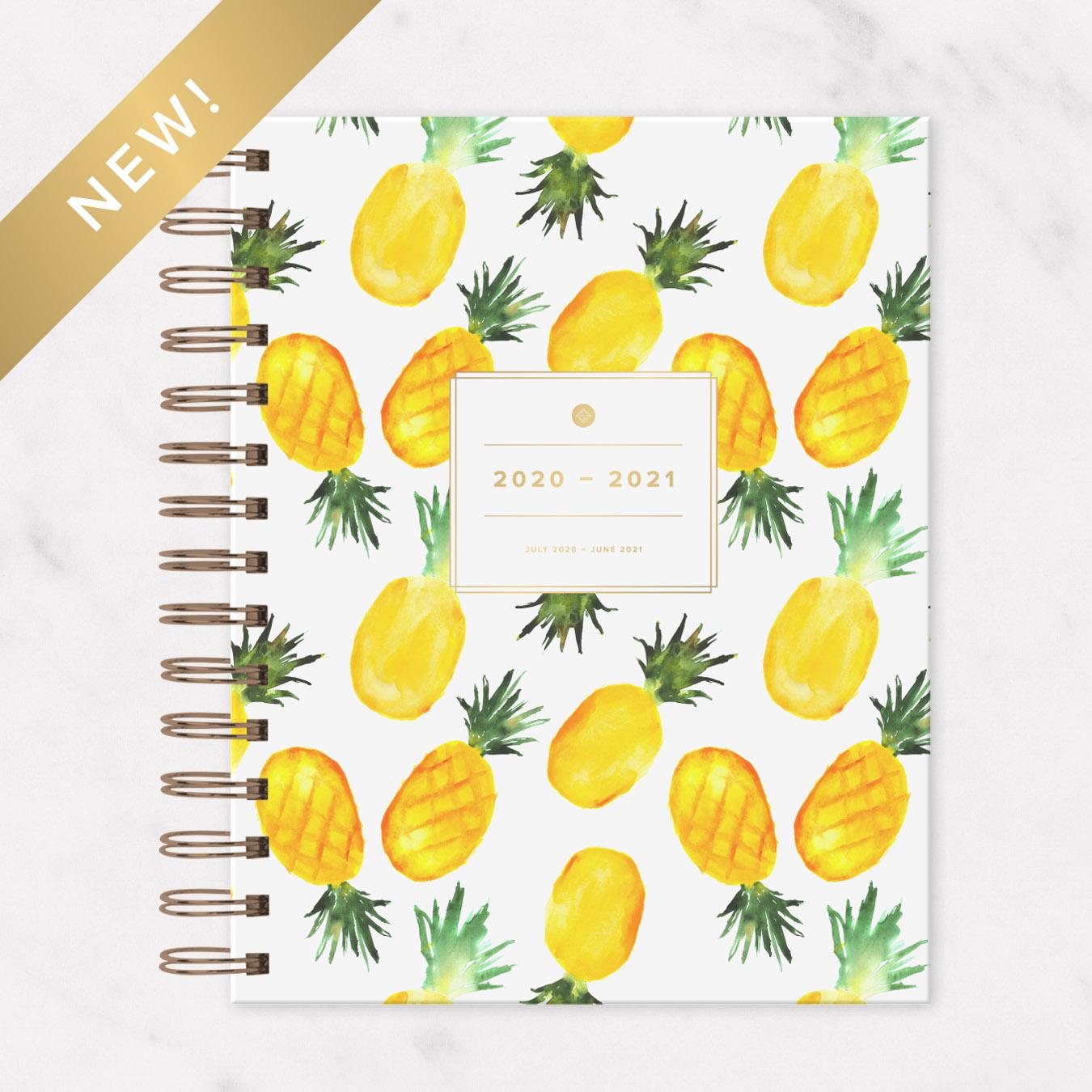 2020 - 2021 IVF Planner Pineapple