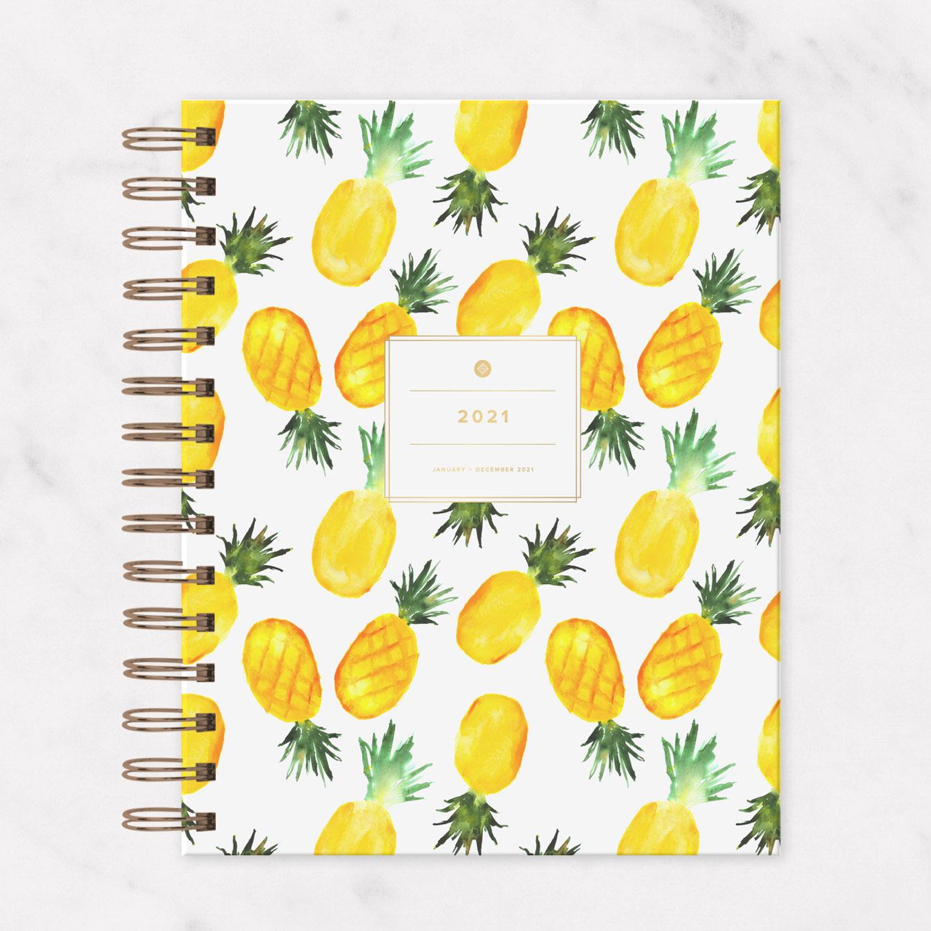 2021 IVF Planner Pineapple